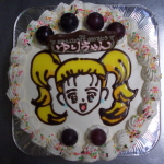 オリジナルバースデーケーキ